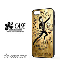 My Chemical Romance Lyrics DEAL-7538 Apple Phonecase Cover For Iphone 5 / Iphone 5S