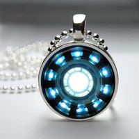 Iron Man Arc Reactor Pendant Necklace