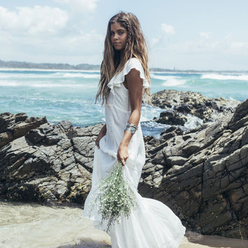 Boho Bella Dress - White