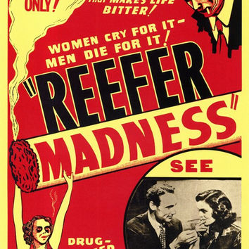 Reefer Madness 11x17 Movie Poster (1938)