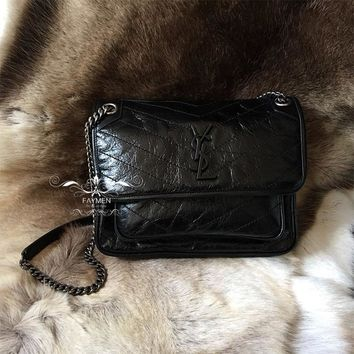 Saint Laurent YSL Niki Medium In Vintage Leather