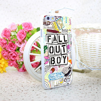 Fall Out Boy Phone Case for iPhone 4 4S 5 5S 6 6S Plus