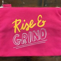 Rise & Grind Cosmetic Bag