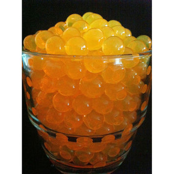 Water Beads Pearls Jelly Balls Vase Fillers, Large, Orange