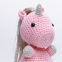 Pink Unicorn, Unicorn Plush, Unicorn Stuffed Animal, Unicorn Amigurumi, Unicorn Stuffed Toy, Crochet Unicorn, Unicorn Soft Toy
