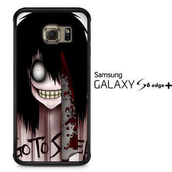Jeff the Killer Y2143 Samsung Galaxy S6 Edge Plus Case