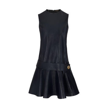 Products by Louis Vuitton: Patent Calfskin Dress With Bijou Button Belt