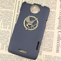 hunger games mockingjay And Black Hard Case Cover With For HTC One X, HTC S720e,HTC