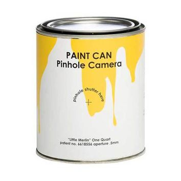 Paint Can Pinhole Camera - Quart Sized