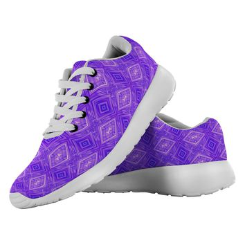 Amethyst Made to Order flexible Designer Running Shoes