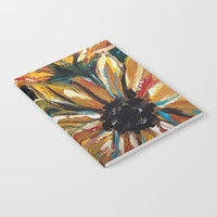 Sunflowers VII Notebook by Express Yourself Studios, LLC