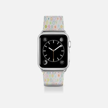 pastel diamond love transparent apple watch band Apple Watch Band (38mm)  by Sharon Turner | Casetify