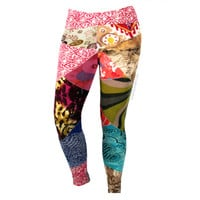 Get Funky Patchwork Leggings on Sale for $42.95 at HippieShop.com