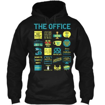The Office Quote Mash-Up Funny  - Official Tee Pullover Hoodie 8 oz