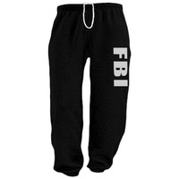Mens Sweatpants / FBI