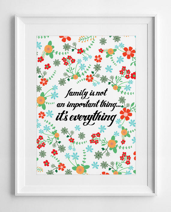 Printable Family Wall Decor : Printable wall decor family is not an from