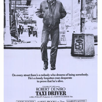 Taxi Driver 11x17 Movie Poster (1976)