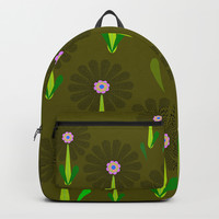 zappwaits Flower Backpack by netzauge