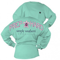 "Simply Southern ""Drop Hard"" Long Sleeve"