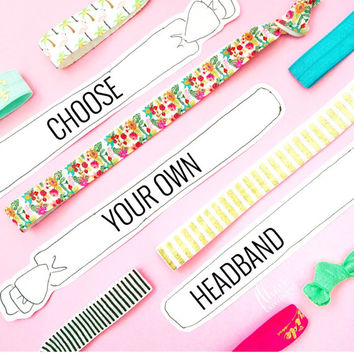 Choose your own headband - A la carte or single headband purchase