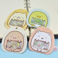 50Pcs DIY Scrapbooking Japanese Sumikko Gurashi Sticker Flakes Bag Sack Anlimals