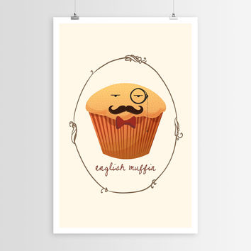 Sara Eshak's English Muffin POSTER