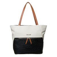Nine West Clean Canvas Tote | Overstock.com Shopping - The Best Deals on Tote Bags