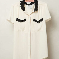 Anthropologie - Lasercut Lace Blouse