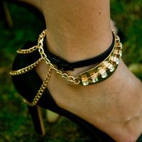 Ankle Chain Cuffs