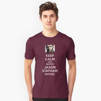 """Keep Calm and watch some movies"" Unisex T-Shirt by Naumovski 