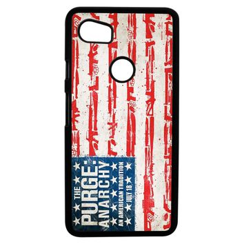 The Purge Anarchy Flag Google Pixel 2XL Case