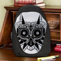 The Legend of Zelda Majora's Mask Teen Kids Canvas School Backpack Bag Rucksack