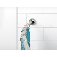 Zenna Home NeverRust Curved Tension Shower Rod
