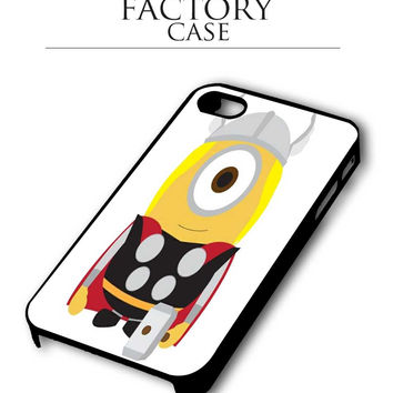 despicable me thor iPhone for 4 5 5c 6 Plus Case, Samsung Galaxy for S3 S4 S5 Note 3 4 Case, iPod for 4 5 Case
