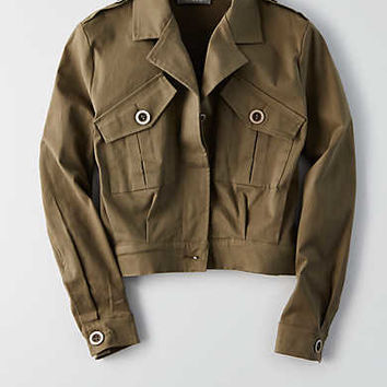 Don't Ask Why Military Jacket, Olive