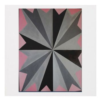 Abstract Star Design Panel Wall Art