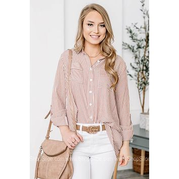 Simply Essential Button Up Top