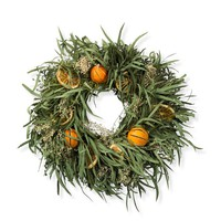 Lemon Citrus Wreath
