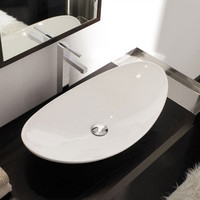 Scarabeo by Nameeks Zefiro Above Counter Bathroom Sink