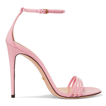 Gucci - Patent-leather sandals