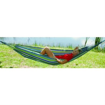 Multicolored Stripes Comfortable Cotton Hammock 40 x 120 inches