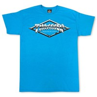 Thrasher Magazine Shop - Diamond Emblem T-Shirt (Sapphire)
