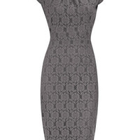 Grey lace pencil dress - Party Dresses - Dresses - Dorothy Perkins