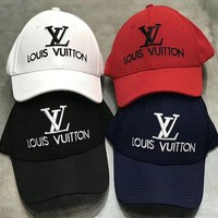 DCCKN7K Louis Vuitton Embroidered Baseball Cap Hat