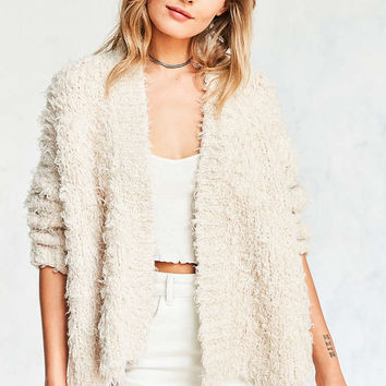 Kimchi Blue Grizzly Open Cardigan - Urban Outfitters