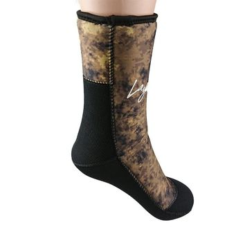 7mm Neoprene Diving Socks Men Women Camouflage Wetsuit Boots Shoes For Water Sports Spearfishing Scuba Diving Socks F1601AC7