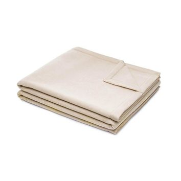 Night and Day Merino Wool Blanket | Beige