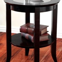 Winsome Wood Genoa End Table, Espresso