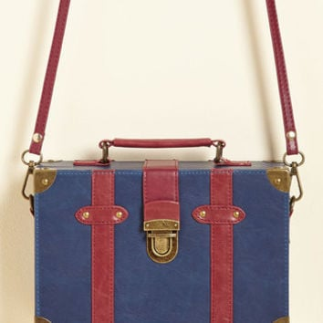 Post-Grad Poise Bag in Navy | Mod Retro Vintage Bags | ModCloth.com