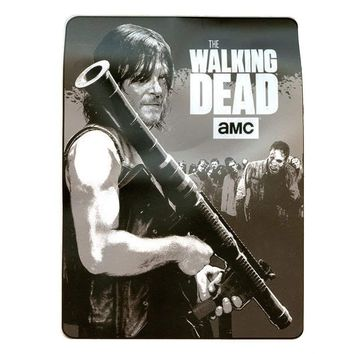 The Walking Dead Seasons Games & Gifts (With Daryl & Bazooka) Fleece Throw Blanket / Tapestries Decorative Wall Hanging - Sofa / Bed Kids Blanket